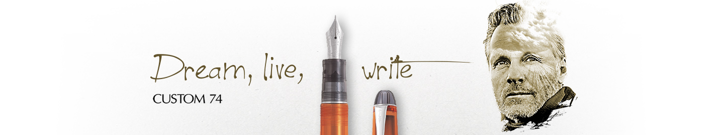 Pilot - Fine Writing - Custom 74 Orange