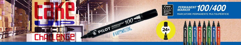 Pilot Permanent Marker 100/400 Marcatore permanente