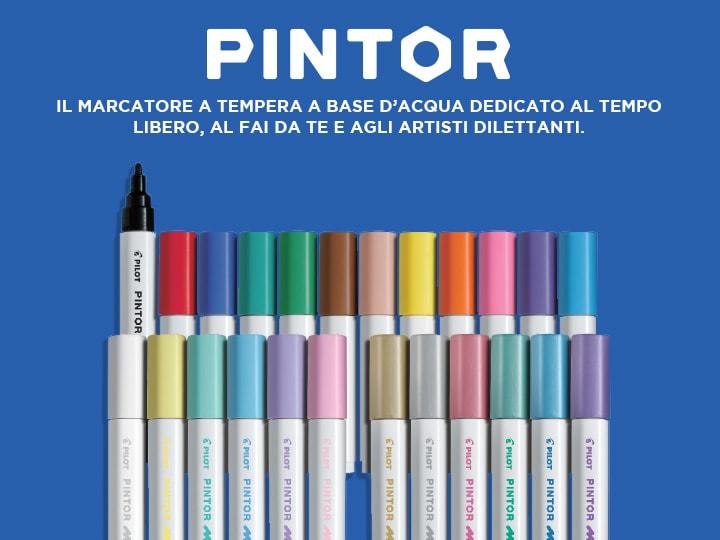 Pilot Pintor, Il marcatore a tempera a base d'acqua dedicato al tempo libero, al fai da te e agli artisti dilettanti