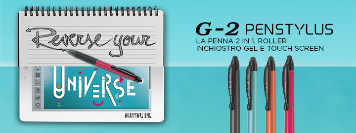 Pilot G-2 Penstylus roller e touch screen