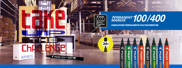 Marcatore permanente Permanent Marker 100/400 Pilot
