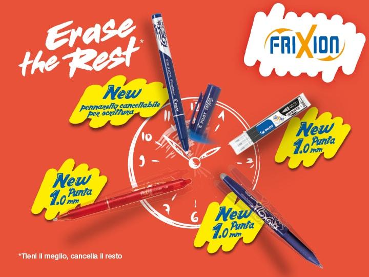 Famiglia FriXIon : termosensibile penne Pilot