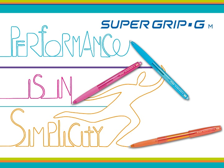 Pilot Super Grip G penna ricaricabile
