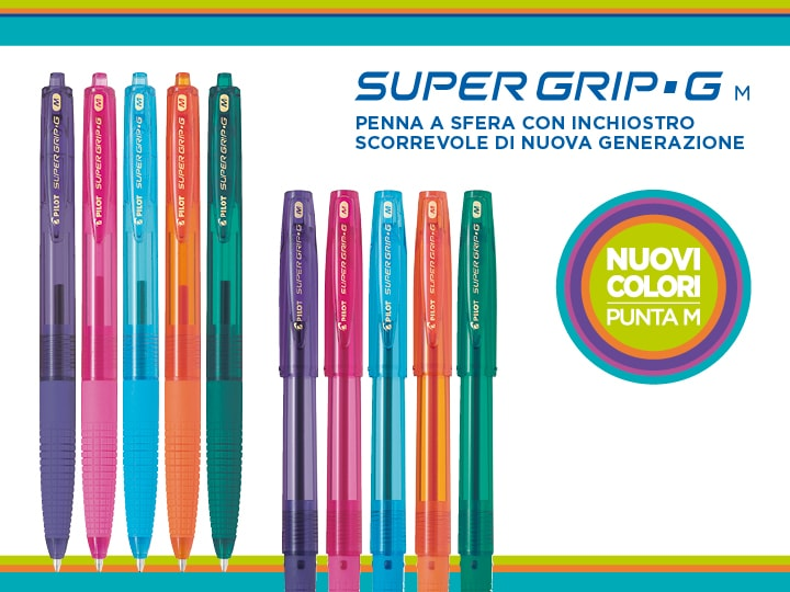 Super Grip G Pilot penna ricaricabile