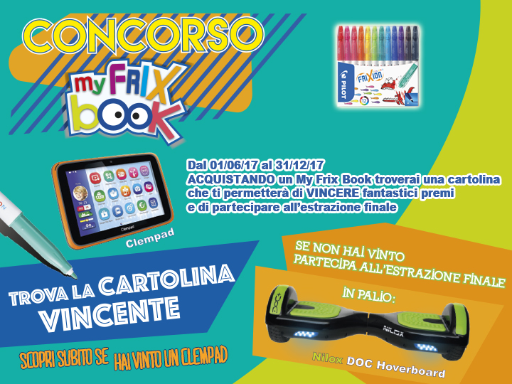 My FriX Book con FriXion Colors Pilot