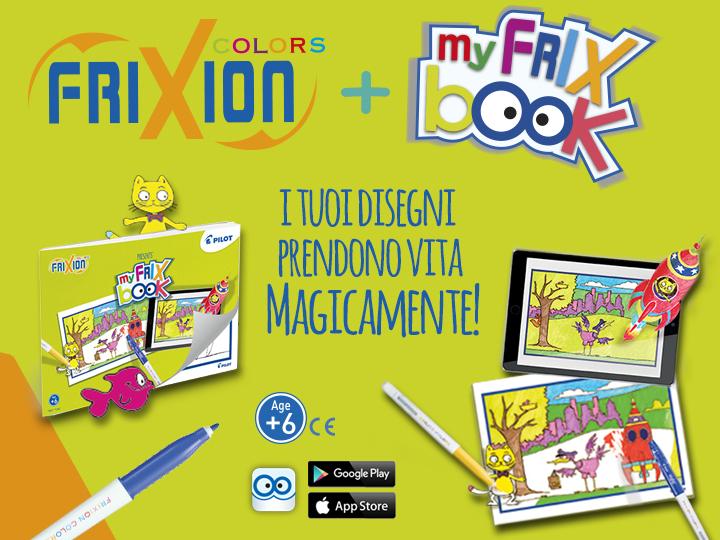 FriXion Colors Pilot My FriX Book