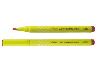Lettering Pen 30 - Pennarello - Rosso - Punta Broad