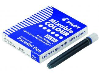 Parallel Pen - set da 6 Cartucce - Blu - Inchiostro Liquido