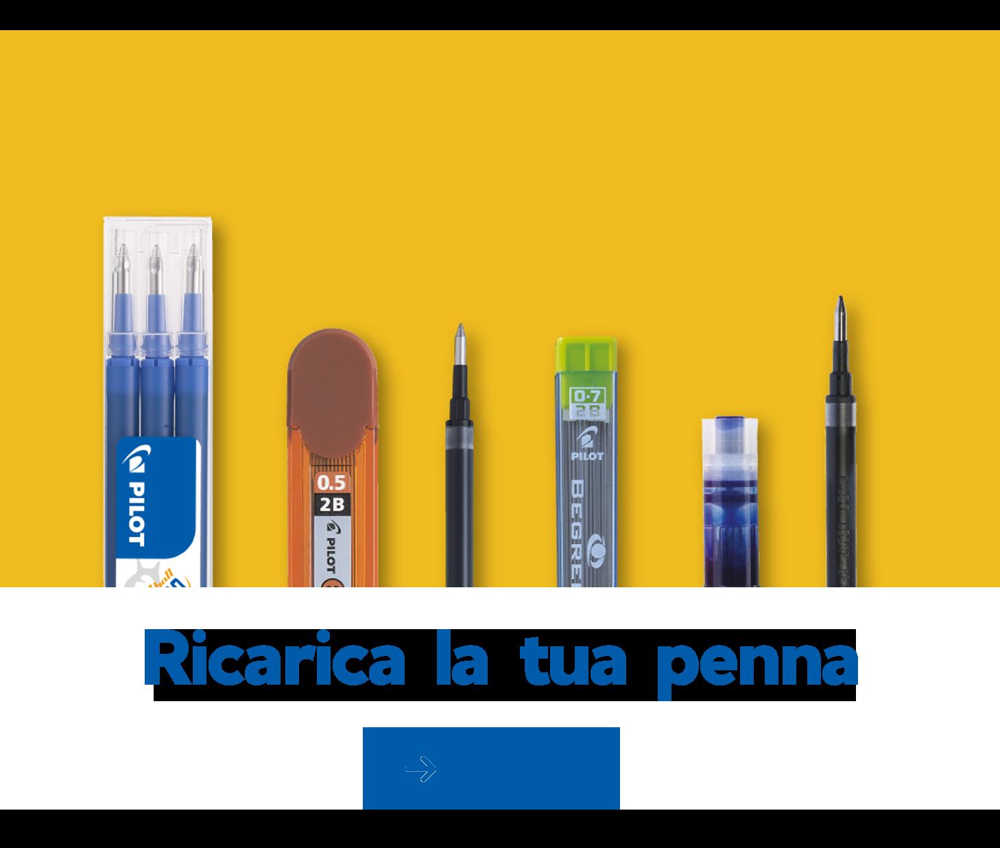 Ricarica la tua penna